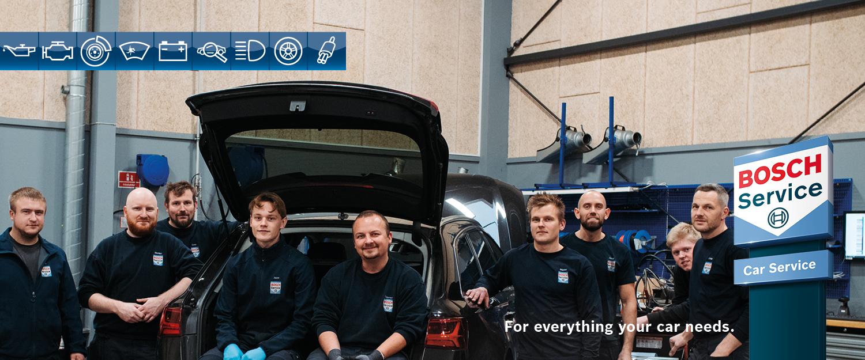 slideshow item Vi glæder os til at servicere dig og din bil